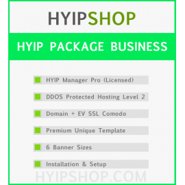 HYIP Package Business
