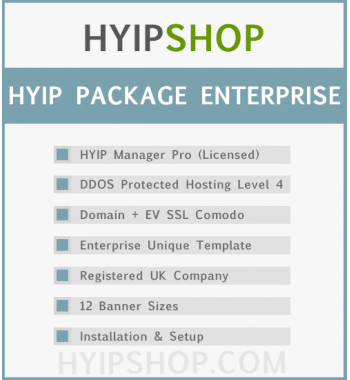 HYIP Package Enterprise