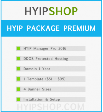 HYIP Package Premium