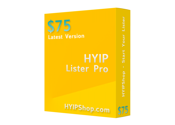 HYIP Lister 2015 (Latest Version)