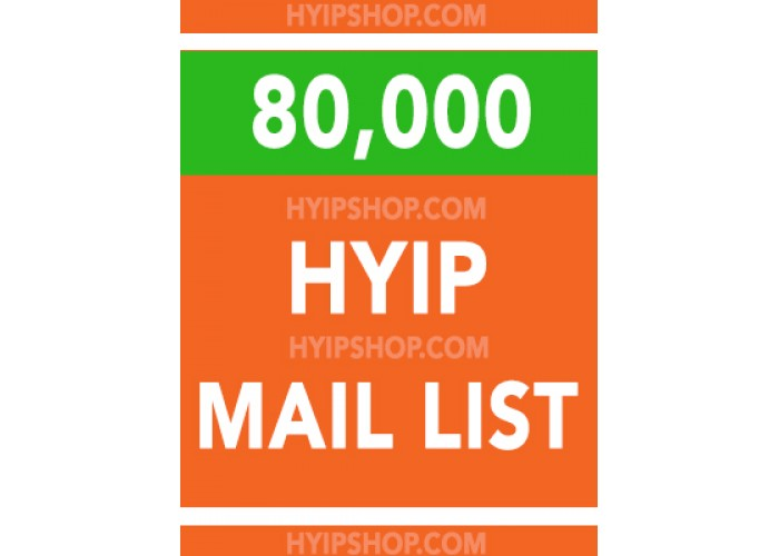 HYIP and Crypto investors MAIL LIST