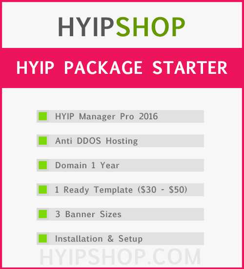 Hyip manager pro 2016 nulled